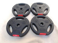 4x Body Rip 2.5kg Weight Plates