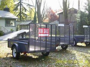 GARDENING EQUIPMENT/ONE  UTILITY TRAILER AVAILABLE !-ONE LEFT