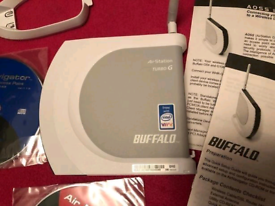 Buffalo WHR-G54S-1 125Mbps Wireless Broadband Router New