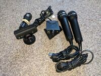 PlayStation cameras and microphones