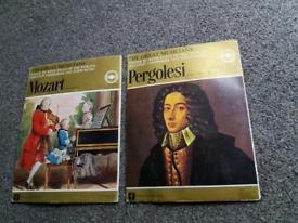 The Great Musicians Pergolesi & Mozart Vinyl records