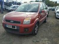 FORD FUSION 2009 RED 5DR 1.6 DIESEL BREAKING FOR SPARES