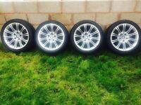 Bmw e60 mv2 alloywheels and tyres alloys