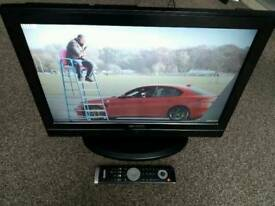"""22"""" Acoustic Solutions LCD tv Built-in Digital Freeview and DVD PLAYER"""