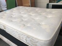 Double white mattress-moving needs to go asking or ONO-contact for photos.