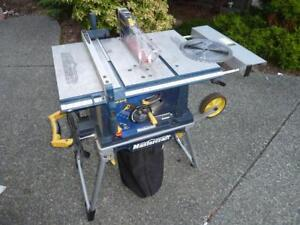 "MASTERCRAFT 10"" TABLE SAW (COLLAPSIBLE)"