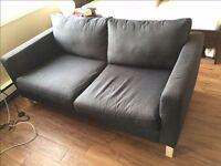 IKEA karlstad 2 seat sofa kivik grey