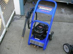 S2000 SIMONEZ GAS PRESSURE WASHER