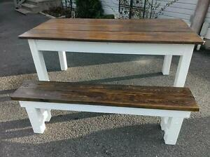 Custom Rustic Harvest Tables starting at only $450