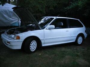 1988 Honda Civic Special Edition Hatchback Wanted