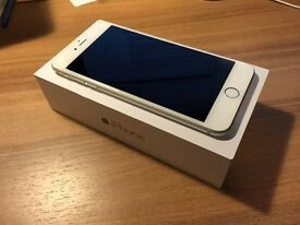 iPhone 6 Plus silver 64GB UNLOCKED