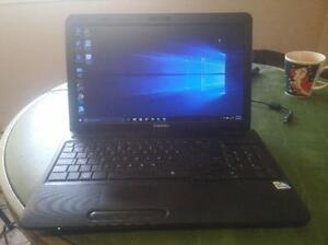 Toshiba C650-4GB Ram-320GB HDD-Mint (Windows 10)