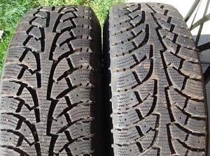 Snow tires and/or rims off of a chevrolet cruze