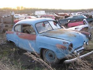 for parts or restore   51 henry J 2 dr sedan