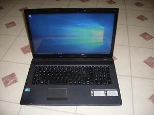 """Acer 7739 -17.3""""-Core i3 -500Gb HDD-HDMI-Mint"""