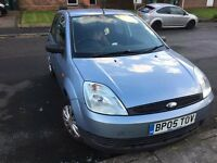 Ford Fiesta 1.2 2005 plate...Quick sale needed