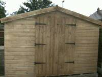 New 16x9 wooden shed