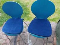 Pair of Chairs with Brand New Cushions