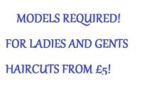 Hair Models Required!