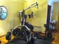 BODY SOLID LEVERAGE GYM - 665lbs OF OLYMPIC WEIGHTS
