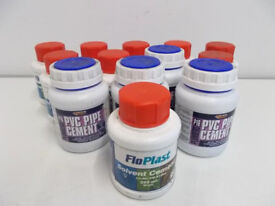 Joblot of PVC Pipe Cement and Solvent Cement