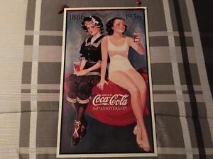 Vintage Coke Cola Sign