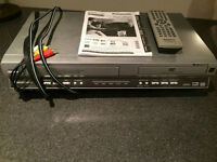 Panasonic DVD Player VCR Recorder