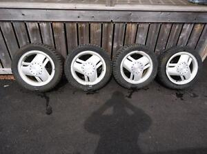 SET OF ALLOY WHEELS FOR A PONTIAC........16 INCH
