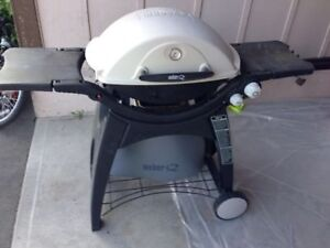 Weber Q300 Propane Gas BBQ with Weber Cover