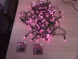 100 Bulbs Berry Indoor Lights