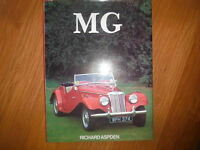 Classic MG History & Competition Book by Richard Aspden 1983