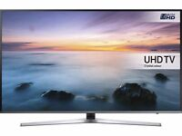 43'' SAMSUNG SMART 4K ULTRA HDR LED TV. UE43KU6000. FREEVIEW HD. FREE DELIVERY. WARRANTY