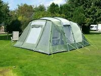 Outwell oakland xl 5 birth tent and carpet