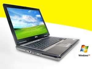 Wireless Dell Latitude D620 Laptop Fast Core 2 Duo DVD/CDRW XP Notebook Computer