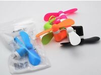 Mini Portable Power Micro Cool Fan For IPhone 5 6 6S 7 Android Phone Tablet Wholesale Joblot x100