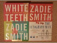 2 Zadie Smith books