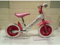 """Girls Toddler 10"""" Balance Bike - Magna Pearl - Excellent Condition"""