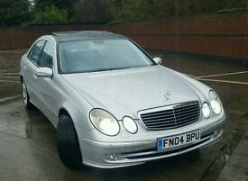 Mercedes Benz E320 Cdi Auto Diesel Avantgarde Long MOT PAN ROOF 1 DOCTOR OWNER