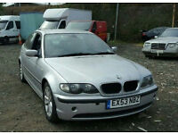 2003 BMW 320D ES DIESEL 5 DOOR MANUAL 12 MONTH MOT