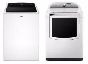 High-efficiency Whirlpool washer-dryer combo
