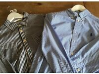 Boys shirts Joules & Ralph Lauren aged 11-12 years. As new