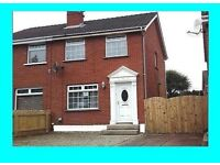 TO LET 3 BEDROOM SEMI BANGOR CO DOWN