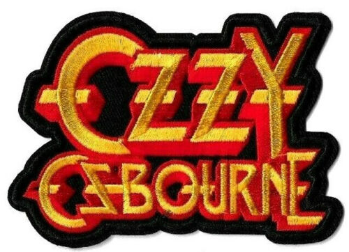 Ozzy Osbourne - Logo Patch Embroidered Iron or Sew On - Black Sabbath