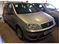 ** 12 MONTHS MOT ** 2005 Fiat Punto 1.2 8v Active 3 Door Hatchback Petrol