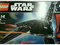Lego Star Wars Krennic's Space Shuttle New