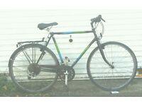 Man's hybrid townbike