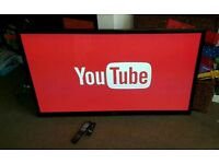 Lg 60 inch slim line smart tv excellent condition fully working with remote control
