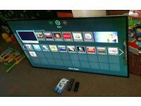 Samsung 65 inch super slim line led smart 3D