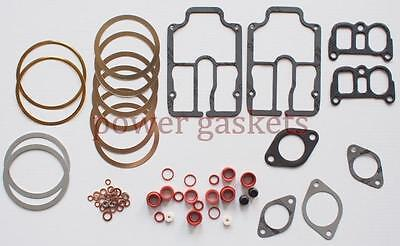 Lister-petter Ts2 Decokehead Gasket Set For A Two Cylinder 1265cc Engine.