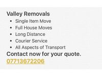 Valley Removals and Man and Van Services